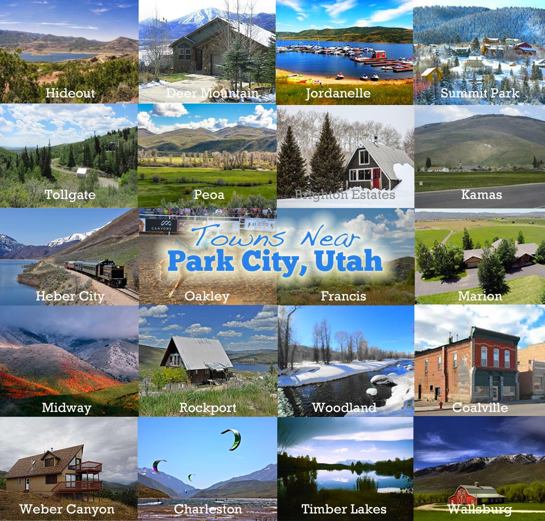 Oakley Utah Map.Closest Towns To Park City Utah For Real Estate