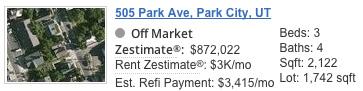 505 Park Ave Zestimate