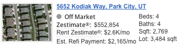 5652 N Kodiak Way Zestimate