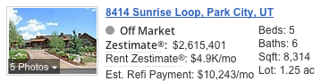 8414 N Sunrise Loop Zestimate