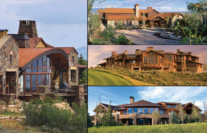 Contemporary Mountain Ranch