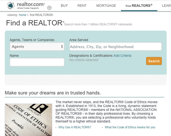 realtor com agent reviews
