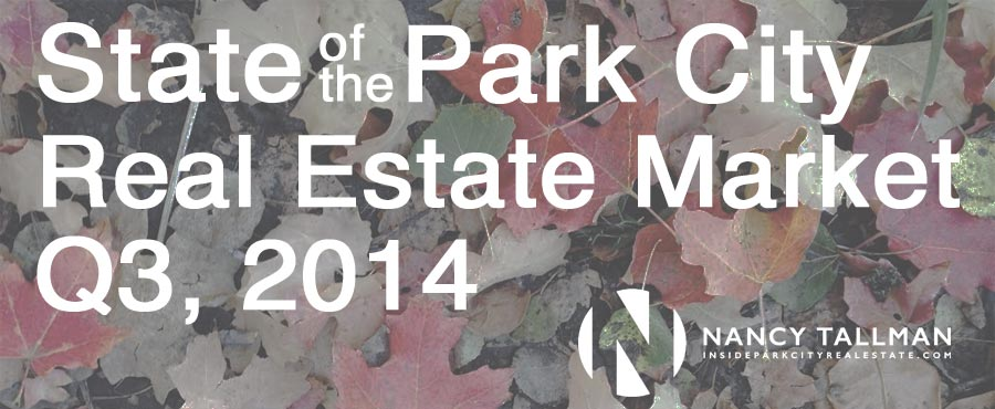 Park City Real Estate Market Q3, 2014