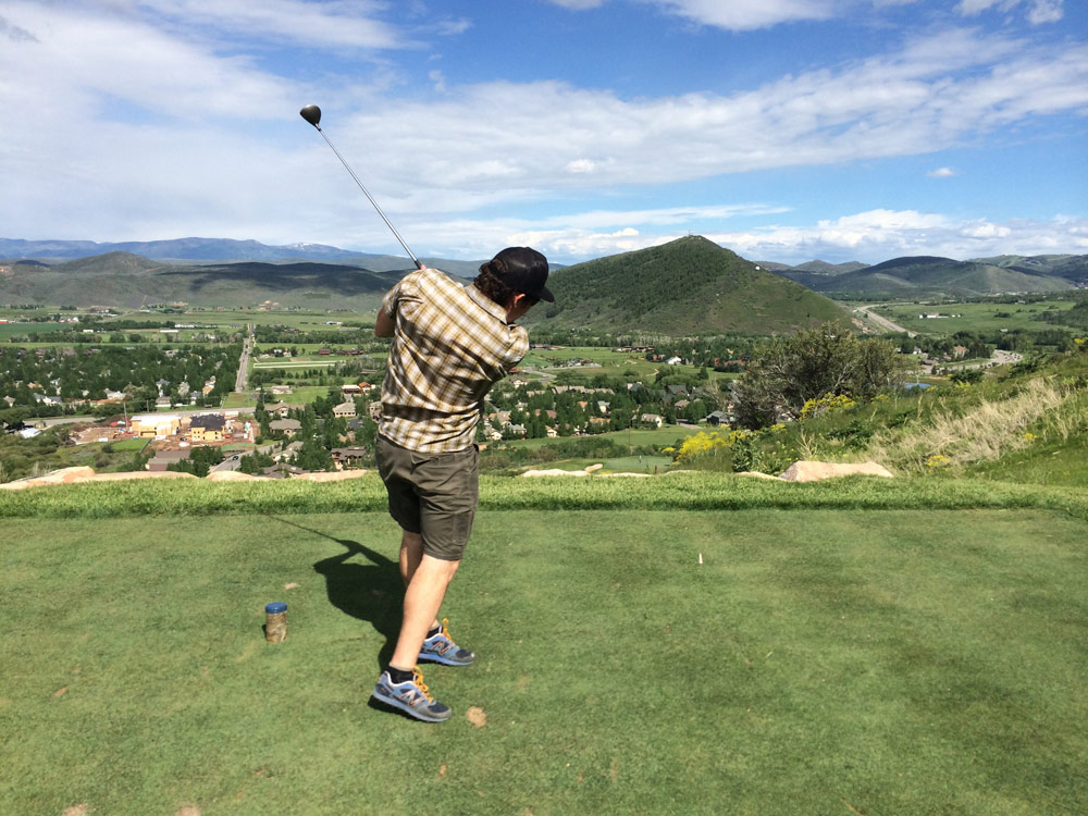 Canyons Golf Course 10th Hole